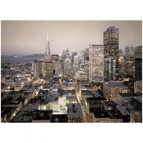 Fototapet San Francisco Lumini