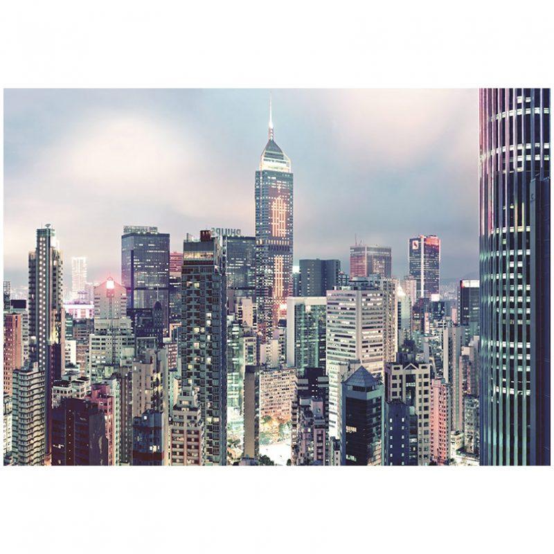 Fototapet urban lumini in metropola