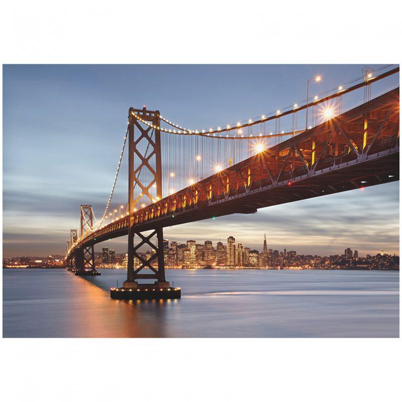 Fototapet urban podul Bay San Francisco
