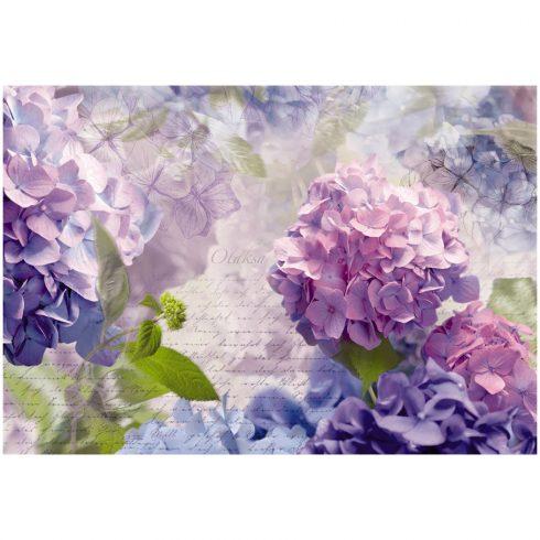 Fototapet floral hortensii Otaksa