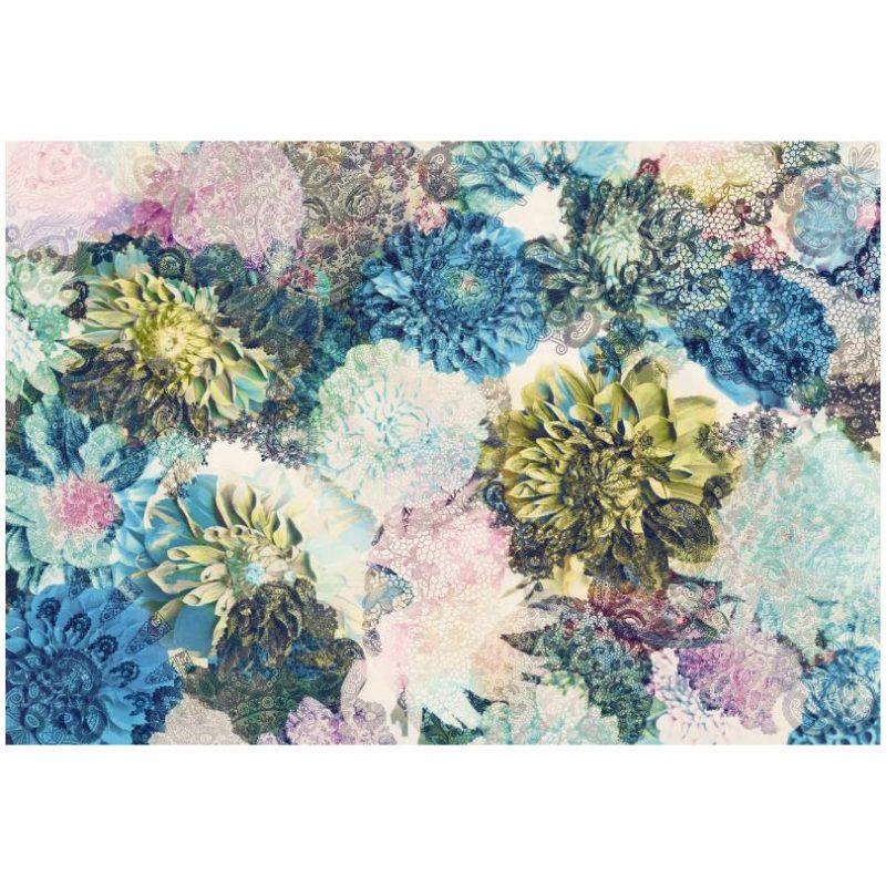 Fototapet floral clasic Flori Joviale