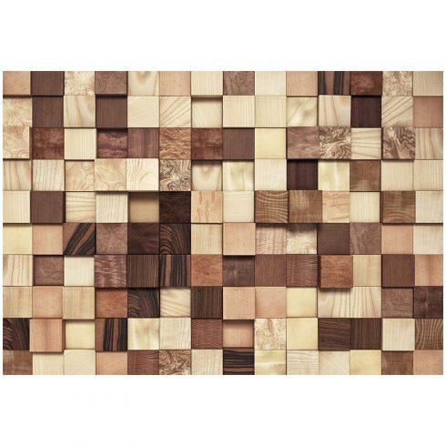 Fototapet lemn perete de cherestea