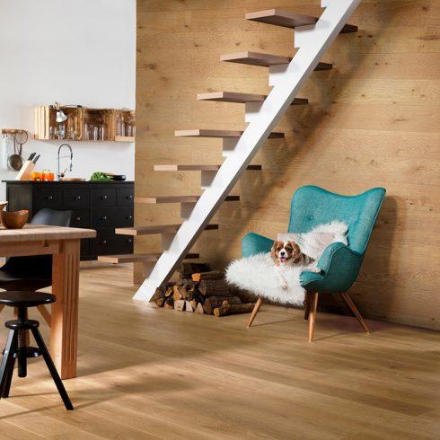 Fototapet lemn – Placaj stejar auriu
