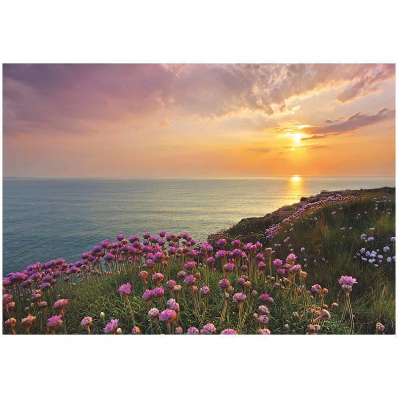 Fototapet natura - Apus pe mare