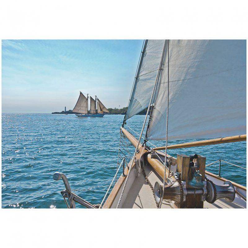 Fototapet peisaje - Ambarcatiuni pe mare