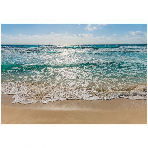 Fototapet peisaje - Valurile marii dimineata