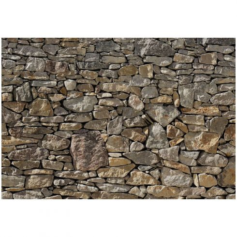 Fototapet perete rustic din piatra