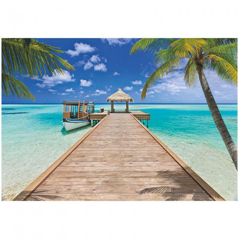 Fototapet plaja - Vacanta la resort