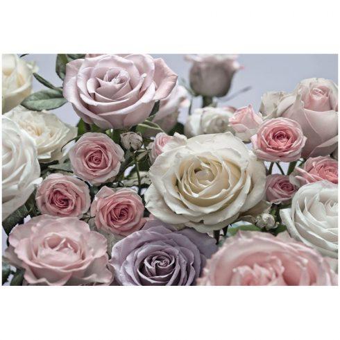 Fototapet trandafiri buchet pastelat