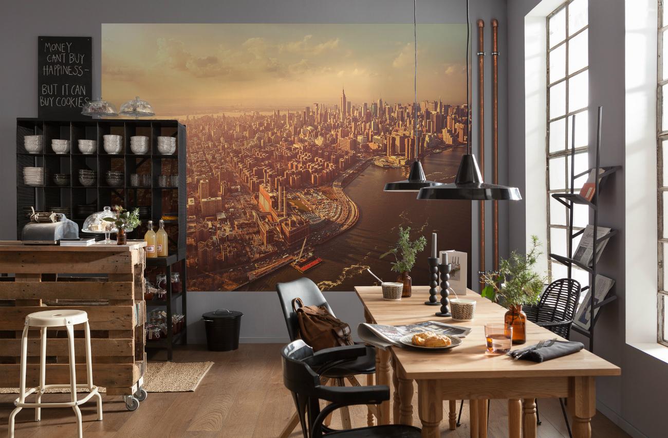 Urban Photomural Komar – Twilight Manhattan