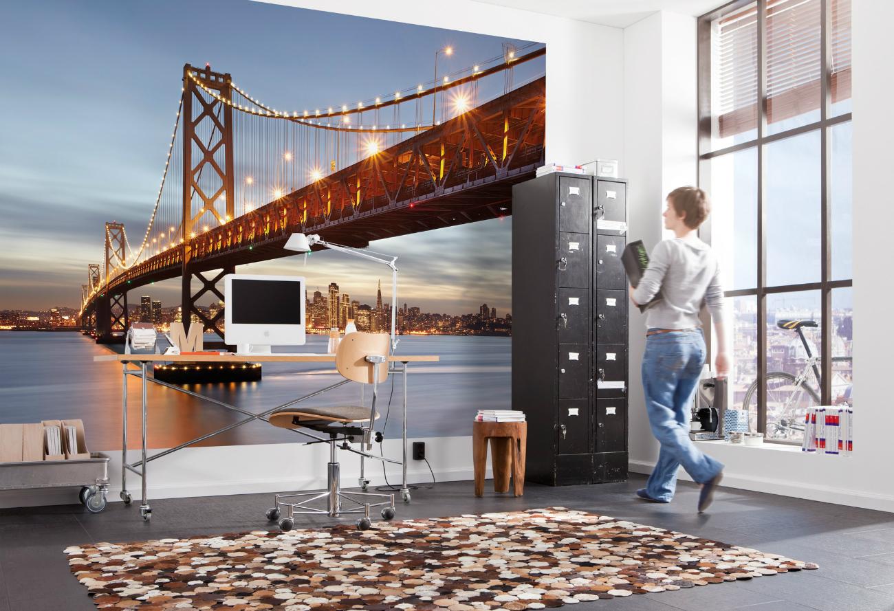 Urban Photomural Komar – Bay Bridge San Francisco