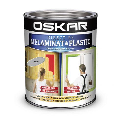 Vopsea pentru plastic Oskar gri silver