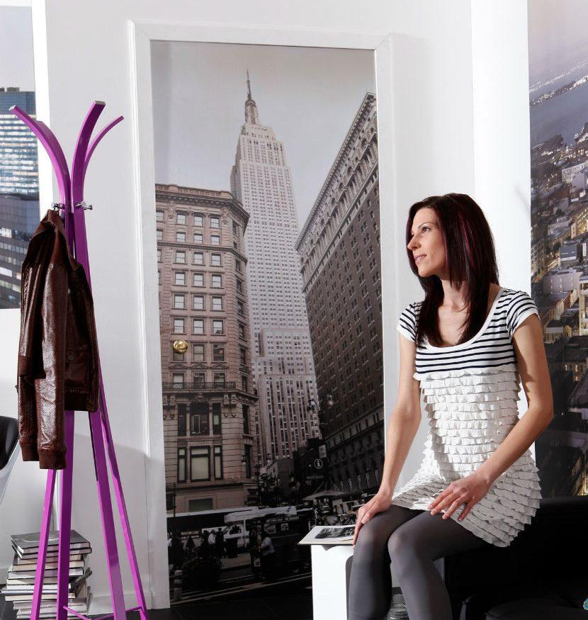 Fototapet pentru usa Empire State Building Interior