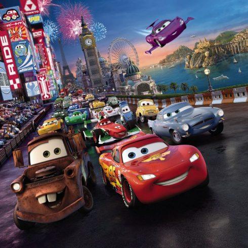 Fototapet Cars Disney-Pixar - Cursa