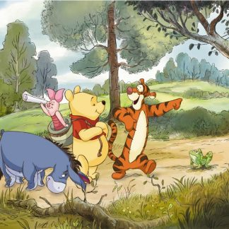 Fototapet Copii Winnie the Pooh - Expeditie