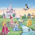 Fototapet Printese Disney - Gradina Palatului