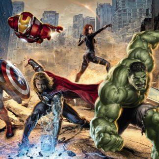 Fototapet Avengers - Furia Strazii