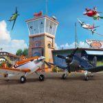 Fototapet Planes - Garajul Avioanelor