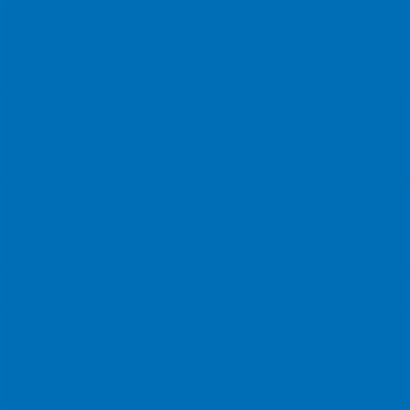 Autocolant albastru mat