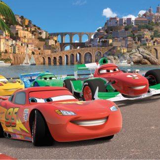 Fototapet Cars - Fulger McQueen Inceperea Cursei