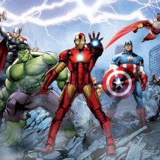 Fototapet Avengers - Fulgerul Noptii