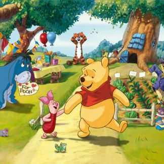 Fototapet Copii Winnie the Pooh - Aniversare