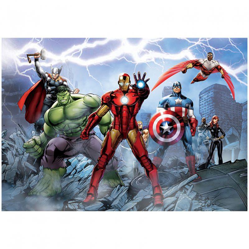 Fototapet Avengers – Fulgerul Noptii