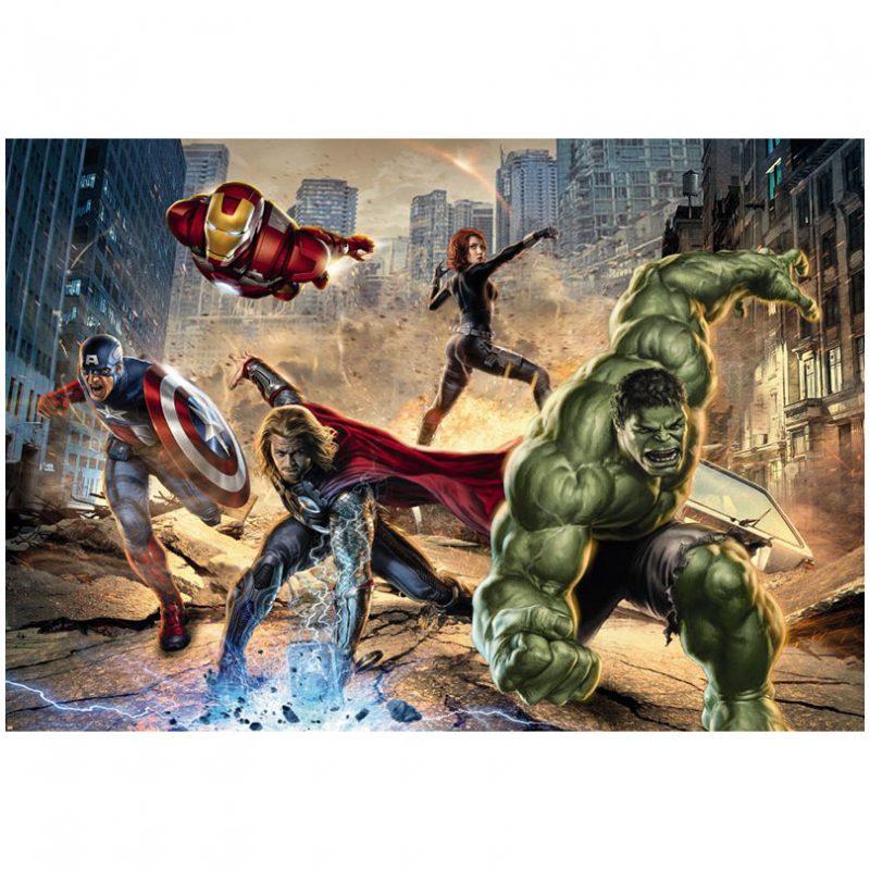 Fototapet Avengers – Furia Strazii