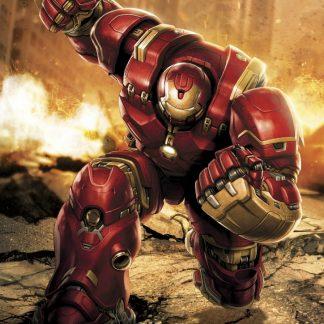 Fototapet Avengers - Iron Man Hulkbuster