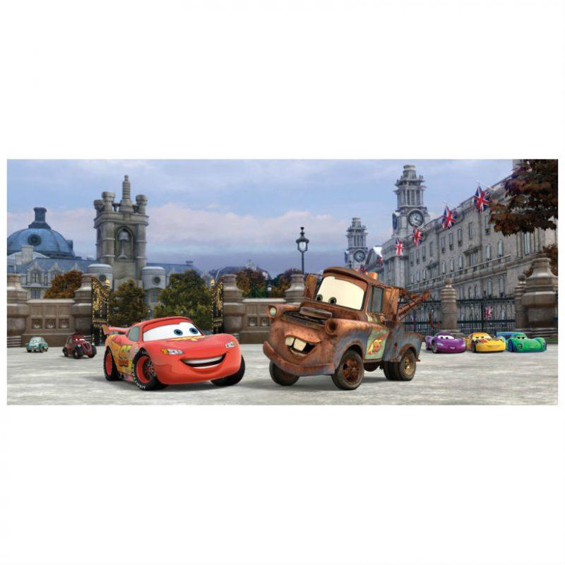Fototapet Cars – Fulger McQueen in Londra