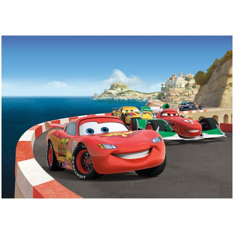 Fototapet Cars – Fulger McQueen pe Coasta