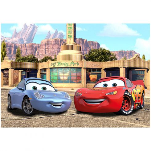 Fototapet Cars – Fulger McQueen si Sally