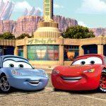 Fototapet Cars - Fulger McQueen si Sally