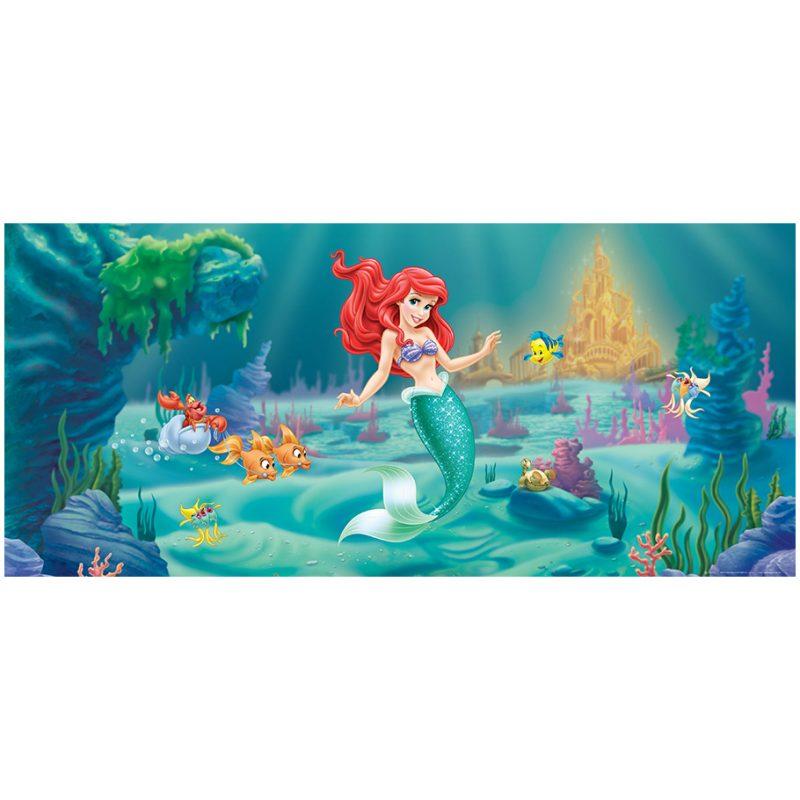 Fototapet Copii Ariel – Mica Sirena si Flounder