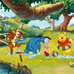Fototapet Copii Winnie the Pooh - Balaceala