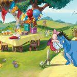 Fototapet Copii Winnie the Pooh - O zi speciala