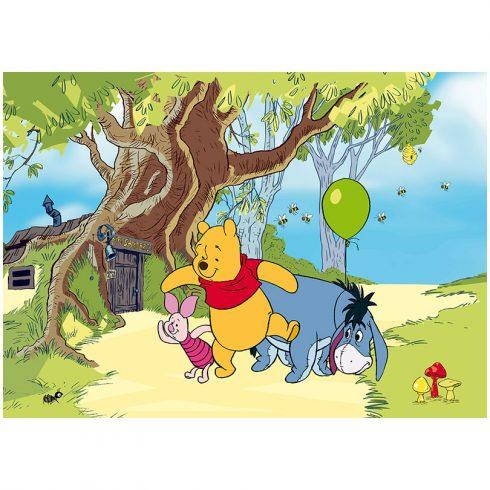Fototapet Copii Winnie the Pooh Plimbare