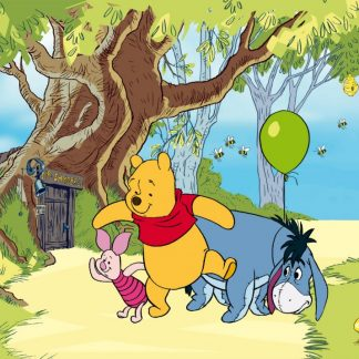 Fototapet Copii Winnie the Pooh - Plimbare