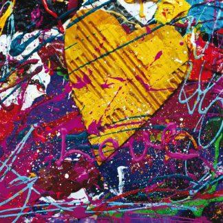 Fototapet Design - Love Paint