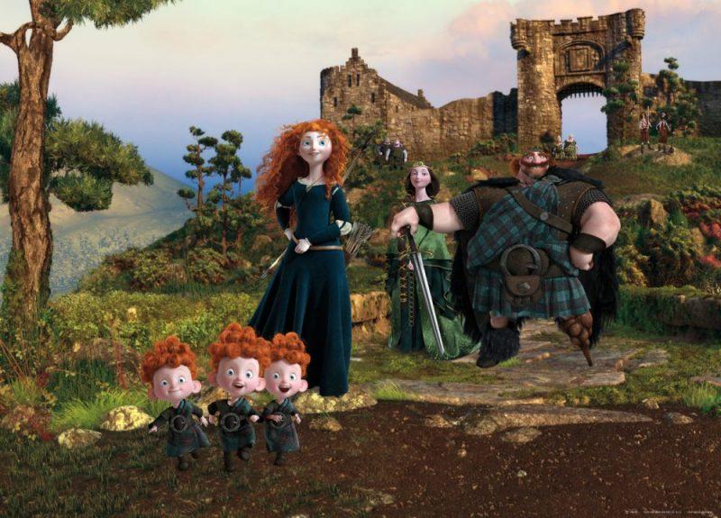Fototapet Disney - Printesa Merida