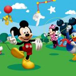 Fototapet Mickey Mouse si Prietenii