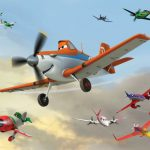 Fototapet Planes - Dusty in Actiune