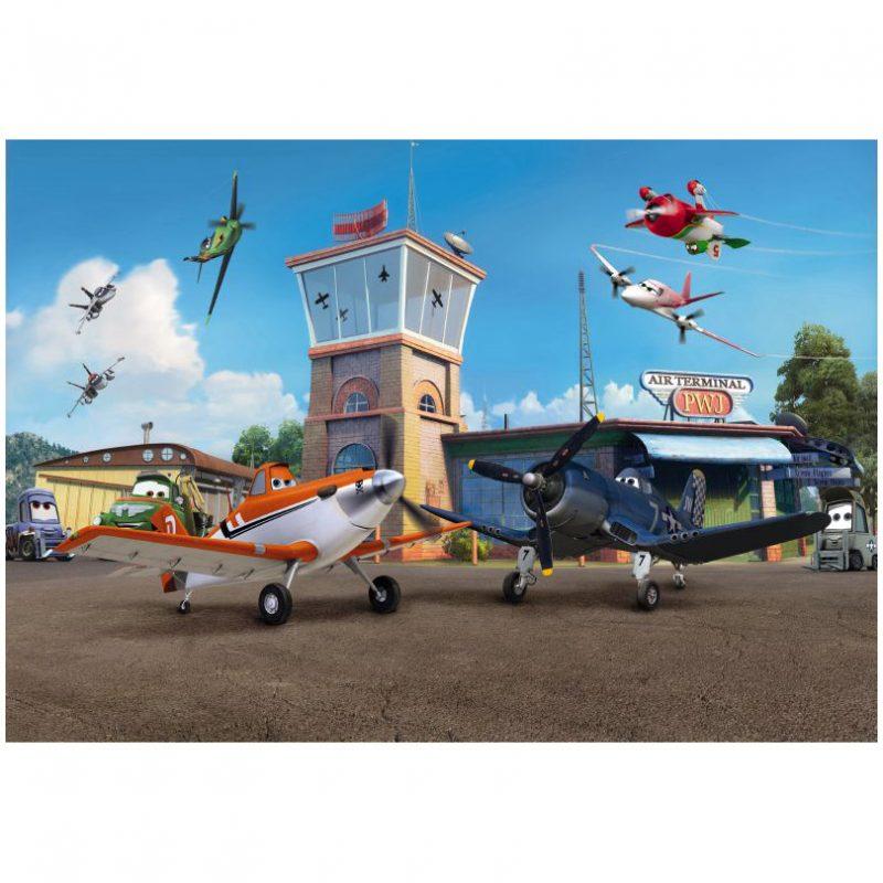Fototapet Planes Garajul Avioanelor