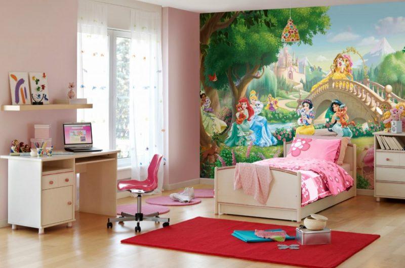 Fototapet Printese Disney - Animalute Komar