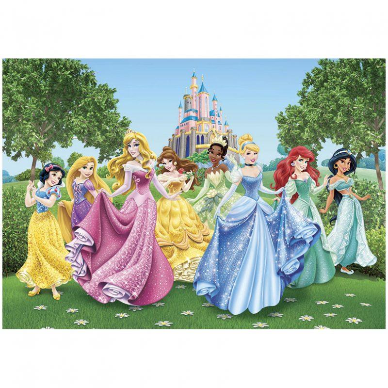 Fototapet Printese – In gradina palatului Disney