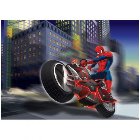 Fototapet Spiderman – Spider on Bike