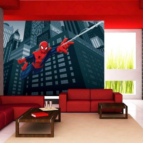 Fototapet Spiderman pentru camera baieti - In actiune AG Design