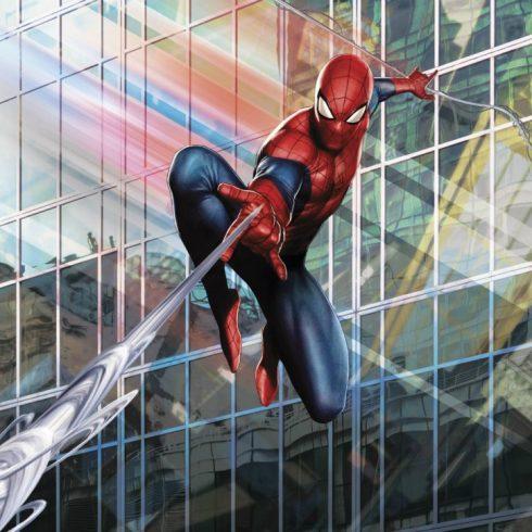 Fototapet Spiderman pentru camera baieti - Man Rush