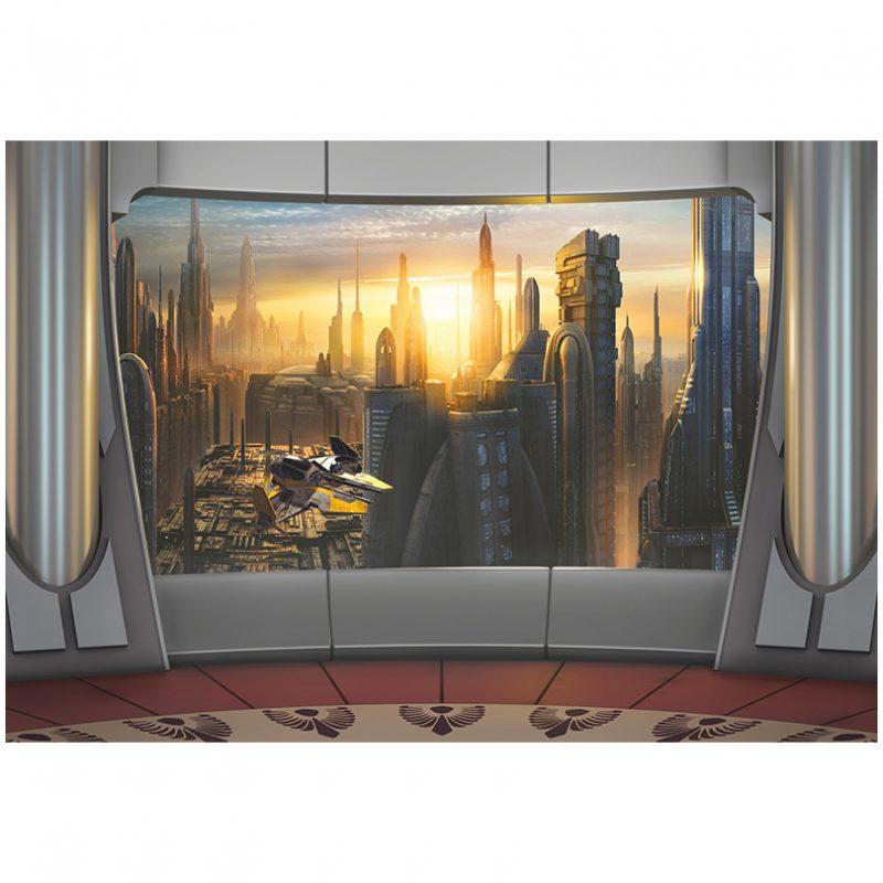 Fototapet Star Wars – Coruscant View
