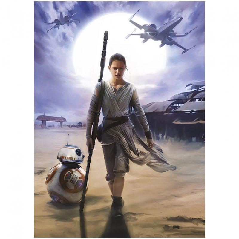 Fototapet Star Wars – Neinfricata Rey